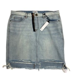 William Rast Chelsea High Rise Jean Skirt 32